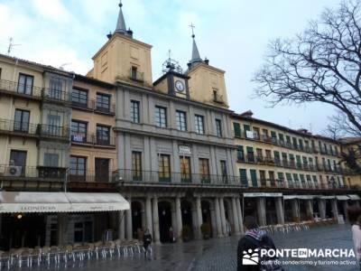 Destilería DYC y Ciudad de Segovia;mochilas para mujeres;rutas en madrid senderismo